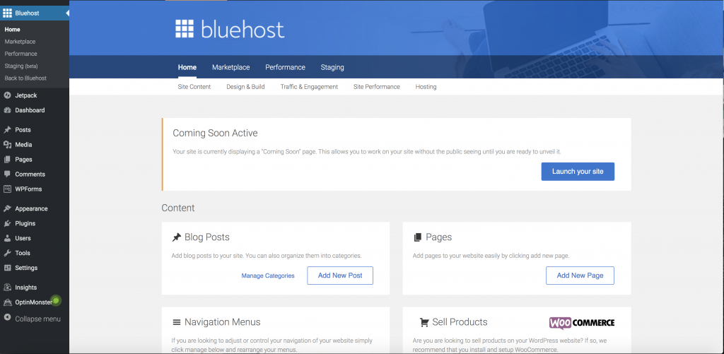 How to Start a WordPress Blog on Bluehost?