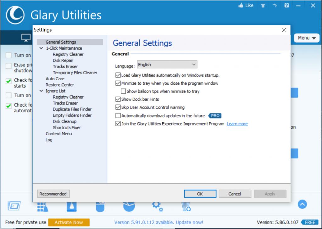 Glarysoft Utility