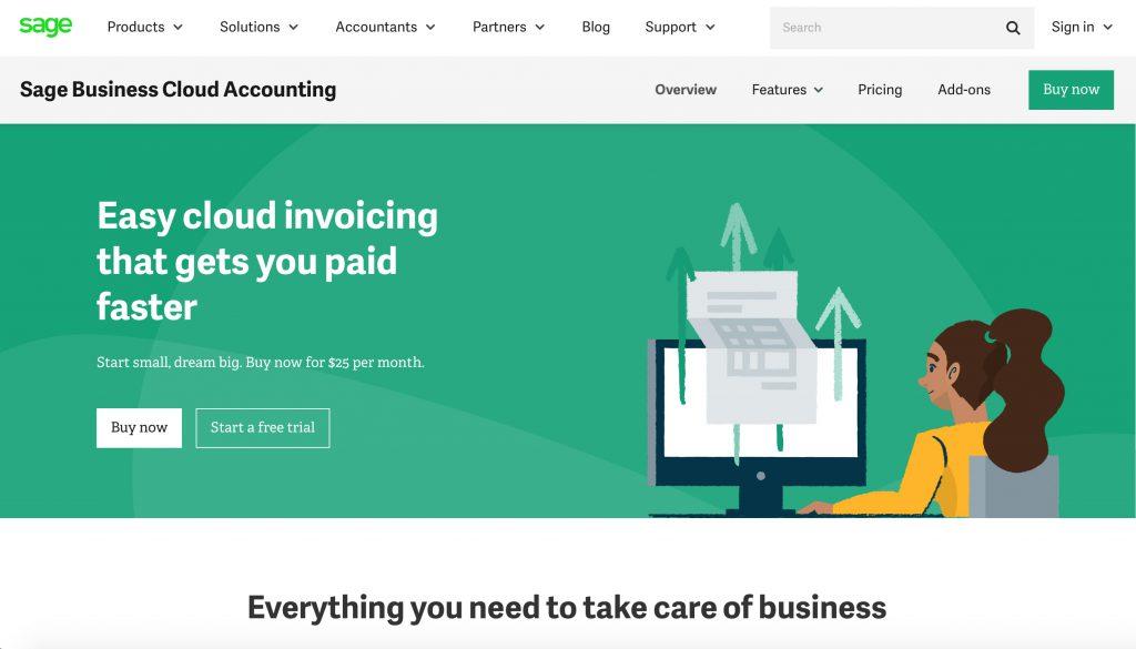 sage accounting software